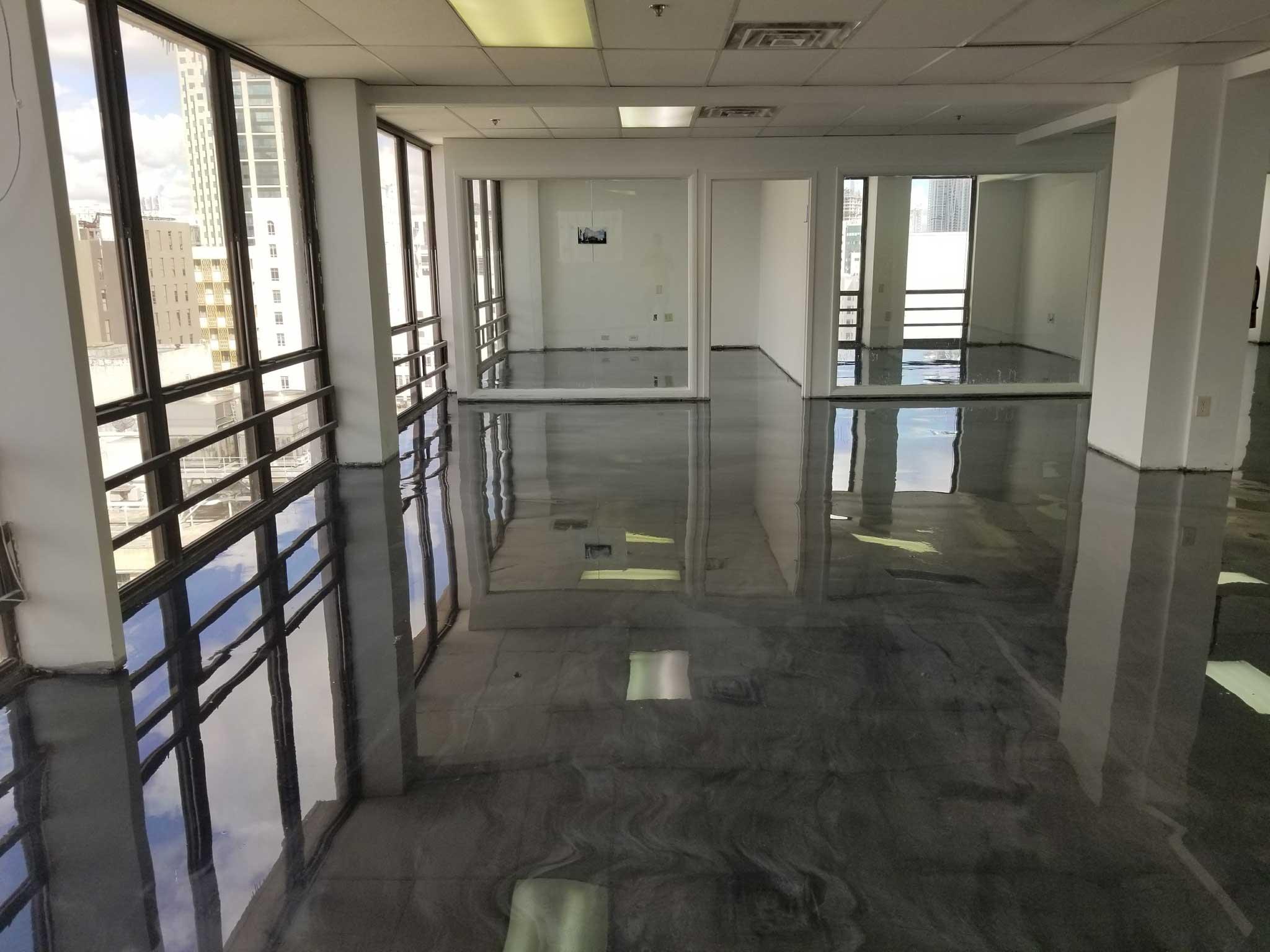 Garage Floors Polished Concrete Or